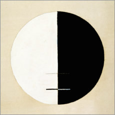Canvas print  No. 3a. Buddha's Standpoint in Earthly Life - Hilma af Klint