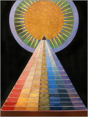 Canvas print  No. 1, Altarpiece - Hilma af Klint