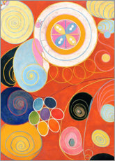 Canvas print  The Ten Largest, No. 3, Youth - Hilma af Klint