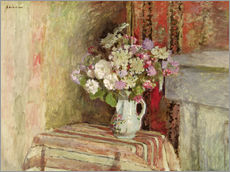 Wall sticker  Flowers in a Vase - Edouard Vuillard
