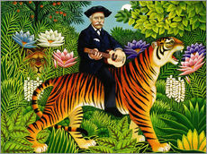 Gallery print  Henri Rousseau's Dream - Frances Broomfield