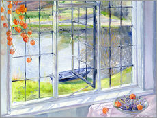 Wall sticker  View of the boat - Timothy Easton