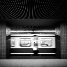 Gallery print  Rush hour Munich - Richard Grando