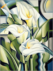 Gallery print  Cubist lilies - Catherine Abel