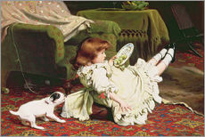 Gallery print  Time to Play - Charles Burton Barber