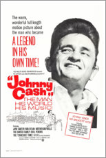 Canvas print  Johnny Cash! The Man, His World, His Music - Entertainment Collection