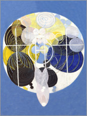 Acrylic print  The Large Figure Paintings, No. 5 - Hilma af Klint