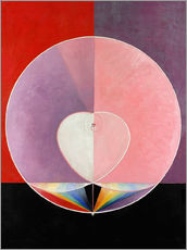Wall sticker  The Dove, No. 2 - Hilma af Klint