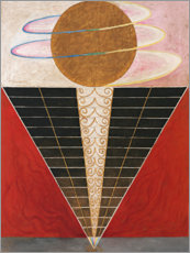 Foam board print  No. 2, Altarpiece - Hilma af Klint