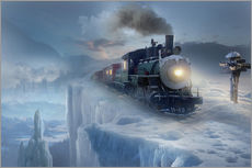 Wall sticker  Polar express - Elena Dudina