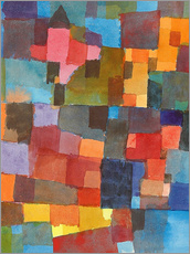 Wall sticker  Room Architectures - Paul Klee