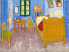 Wall sticker  Vincent's bedroom, Arles - Vincent van Gogh