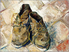 Gallery print  A Pair of Shoes - Vincent van Gogh