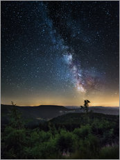 Gallery print  Milky Way over Black Forest - Andreas Wonisch