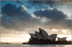Wall sticker  Famous Sydney Opera House at sunrise, Australia - Matteo Colombo