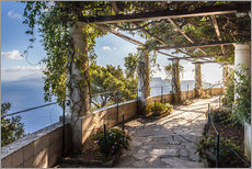 Gallery print  Garden of the Villa San Michele (Capri, Italy) - Christian Müringer