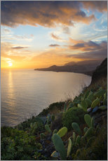 Gallery print  Bay of Funchal at Sunset, Madeira - Markus Kapferer