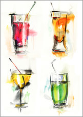 Gallery print  Colourful Drinks