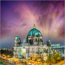 Wall sticker  Berliner Dom - German Cathedral at sunset