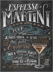 Wall sticker  Espresso Martini recipe - Lily & Val