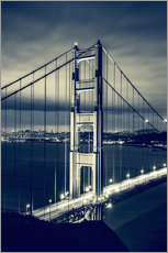 Gallery print  Golden Gate Bridge, San Francisco