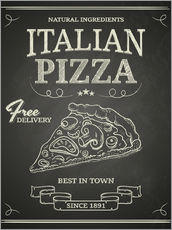 Wall sticker Italian Pizza