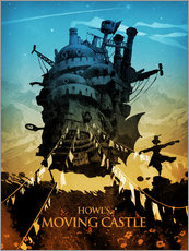 Gallery print  Howl's Moving Castle - Albert Cagnef