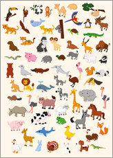 Gallery print  Animal World - Kidz Collection