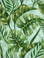 Wall sticker  Monstera Leaves