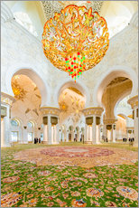 Wall sticker  Sheikh Zayed mosque in Abu Dabi