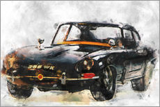 Wall sticker  Oldtimer - black - LoRo-Art