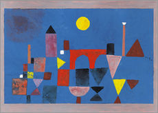 Wall sticker  Red Bridge - Paul Klee