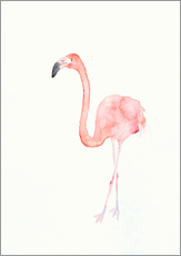 Wall sticker  Flamingo - Dearpumpernickel