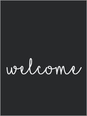 Wall sticker  Welcome - Finlay and Noa
