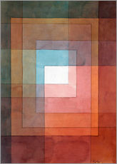 Wall sticker  White framed polyphonically - Paul Klee