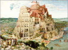 Wall sticker  The Tower of Babel - Pieter Brueghel d.Ä.