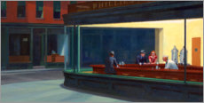 Gallery print  Nighthawks - Edward Hopper