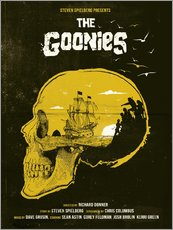 Wall sticker  The Goonies - Golden Planet Prints
