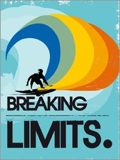 Wall sticker  Surfer, Breaking limits - 2ToastDesign