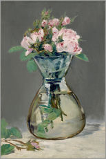 Wall sticker  Roses in a vase - Edouard Manet
