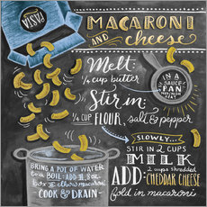 Wall sticker  Macaroni and Cheese recipe - Lily & Val