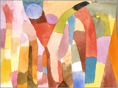 Wall sticker  Movement of Vaulted Chambers - Paul Klee