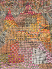 Wall sticker  Urban Palace - Paul Klee