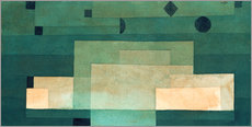 Wall sticker  Firmament above the temple - Paul Klee