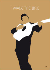 Gallery print  Johnny Cash, I walk the line - chungkong