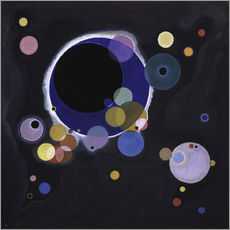 Wall sticker  Circles - Wassily Kandinsky