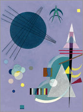 Wall sticker  Violet Green - Wassily Kandinsky