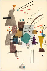 Gallery print  warmed cold - Wassily Kandinsky