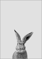 Gallery print  Follow the rabbit - Finlay and Noa