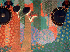Wall sticker  The princesses and warriors - Vittorio Zecchin